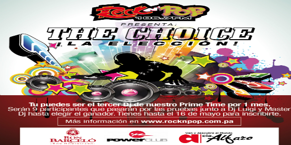 RNP - the choice concurso de djs 2015 - INSTAGRAM-01
